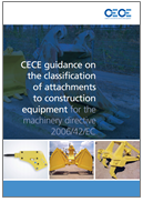Guidance on the classification of attachments to construction equipment - CECE