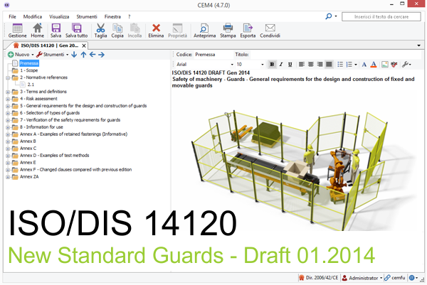 The new ISO 14120 Guards Standard