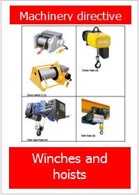 Guide for identification of non-compliant winches and hoists - FEM