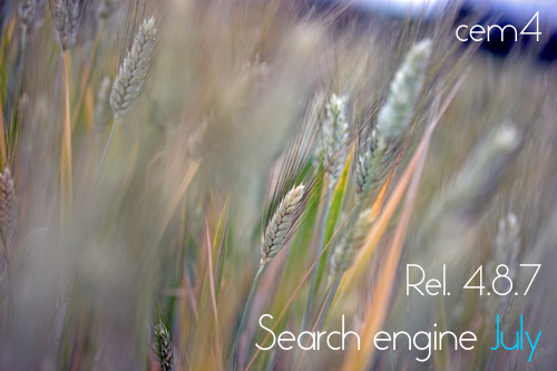 "CEM4 | Rel. 4.8.7 ""Search engine July"""
